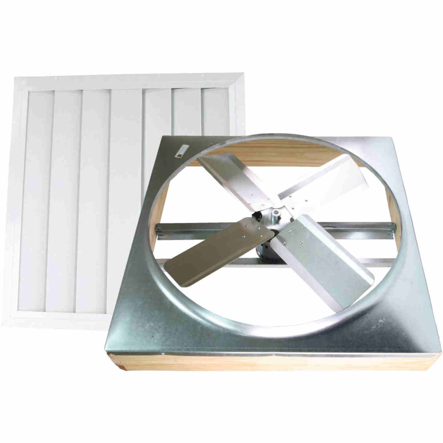 """Ventamatic Cool Attic 24"""" Direct Drive Up to 1800 sq ft Whole House Fan Image 1"""