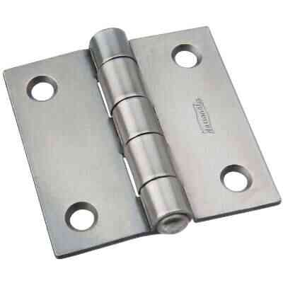National 2 In. Square Steel Broad Door Hinge