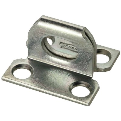National 1-1/16 In. x 1-1/8 In. Zinc Plate Staple With Screws