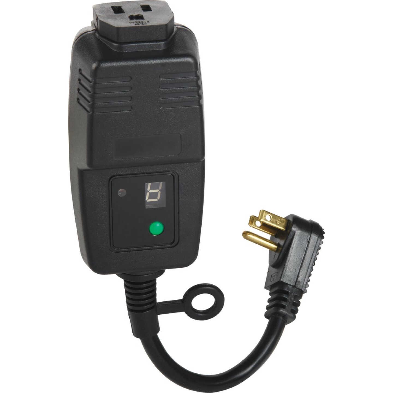 Do it 15A 120V 1800W Black Outdoor Timer Image 1